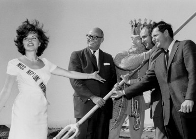 1Congressman Roosevelt © attends the groundbreaking of Neptune Marina in 1965