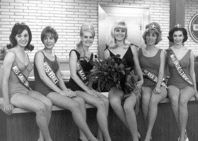 Miss Marina del Rey & Court, 1967