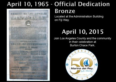 The Official Dedication Bronze