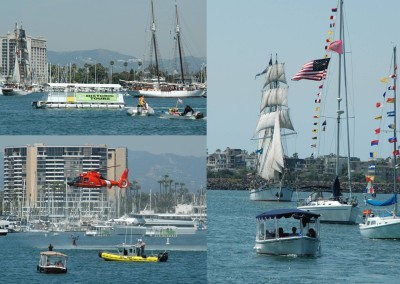 Special Events for the Marina's 50th Birthday Celebration including a harbor tour sponsored by the Marina del Rey Historical Society