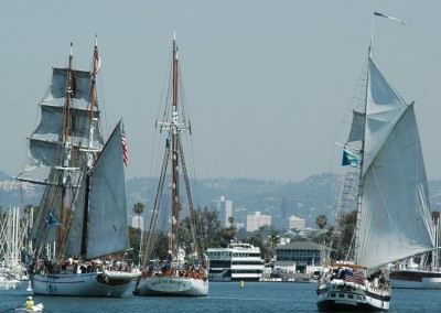 Tall Ships provided harbor tours