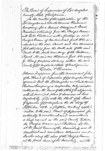 1886 Board of Supervisors Minutes on the Railroad