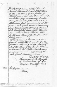 1886 Board of Supervisors Minutes on the Railroad 3