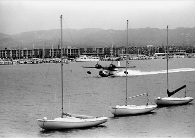 Catalina Seaplane 1969 HM272BW edited
