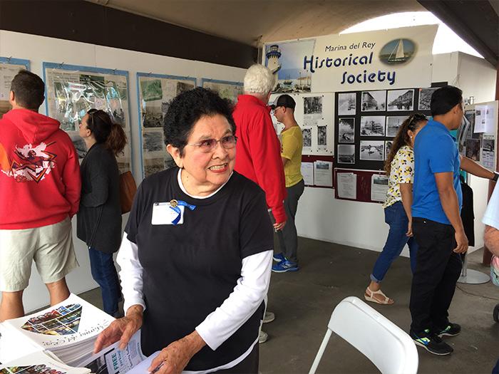 Willie Hjorth and Marina del Rey Historical Society Exhibit at ArtSea