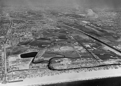 1959: Last views of the swamp prior to the harbor construction