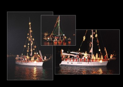 The Holiday Boat Parade has been the second Saturday in December annually since 1963