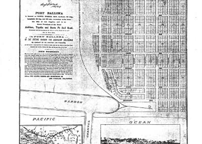 1887 Map Port Ballona 2