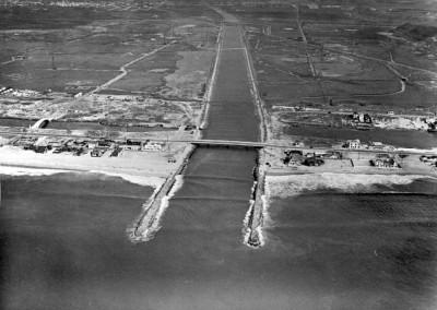 1941 Ballona Creek - Beach - and wetlands taken October 24th