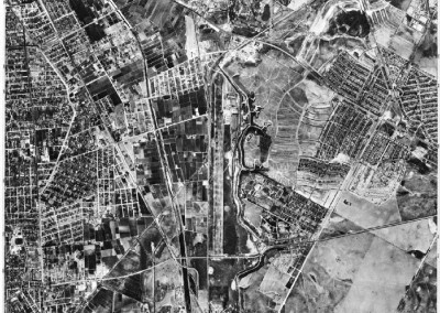 1946 Map of MdR and PdR to Baldwin Hills