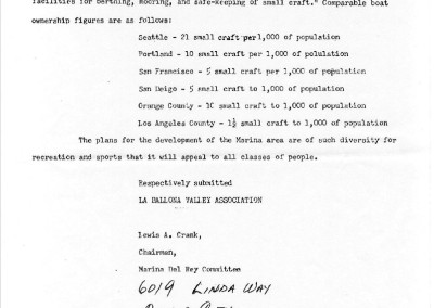 1950 Dept of the Army Letter of Support 4