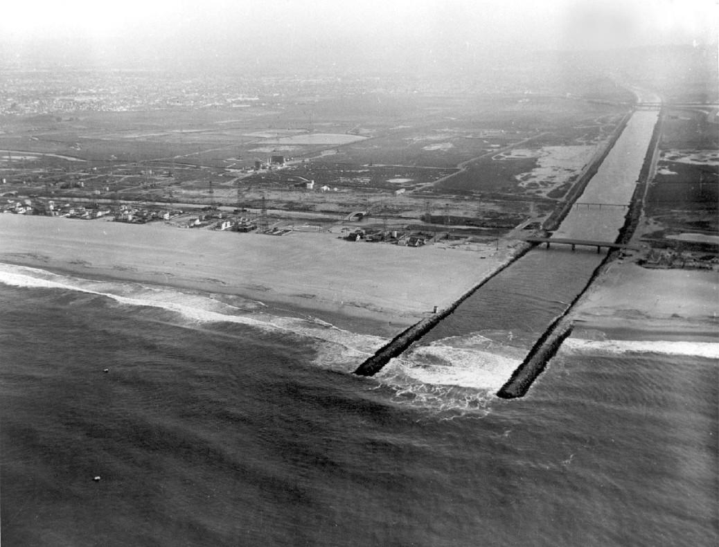 1956 Site of the future Marina del Rey