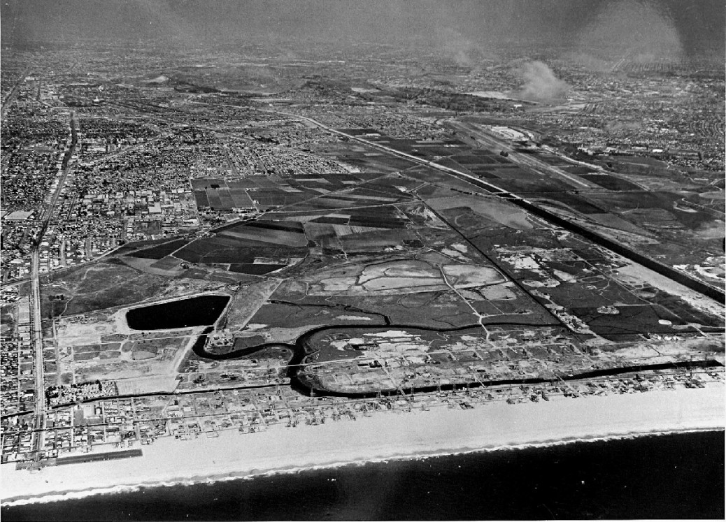 1958 Pre-dredging Lake and Wetlands