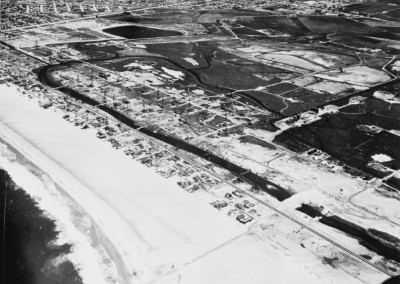 1959 Oil field located at at the Marina del Rey future site