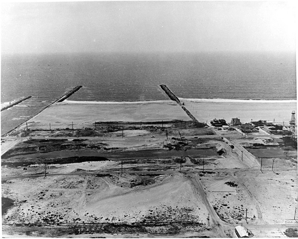 1959 Site of the Main Channel before dredging