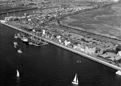 1972 Fishermans Village and the Administration Building-