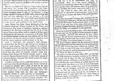 1977 Aug 5 Argonaut Tom Moran Port Ballona Article 2