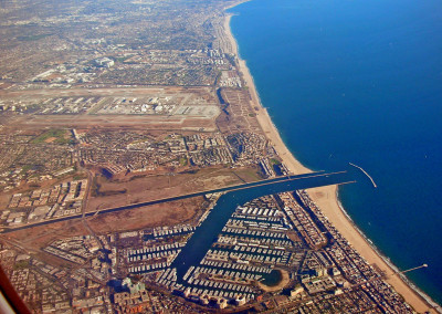 Marina del Rey: looking South