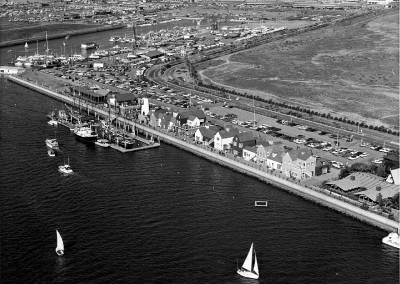 aerial Fishermans Village 1972jpg  HM174BW edited