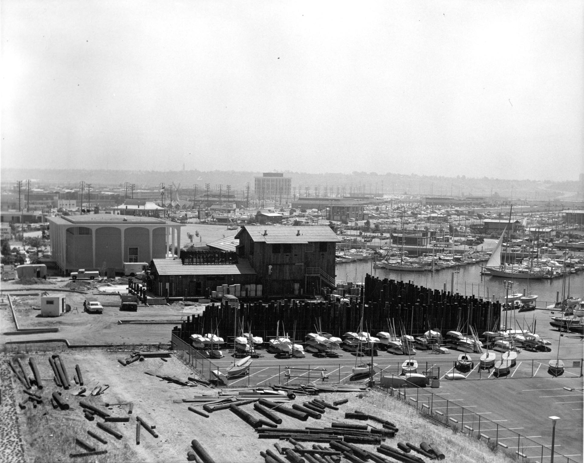 hm177bw-aerial-warehouse-restaurant-under-construction-1969
