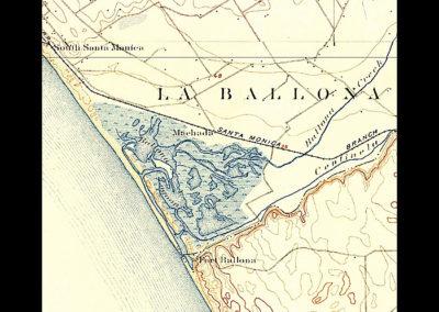 Marina Topigraphical Map